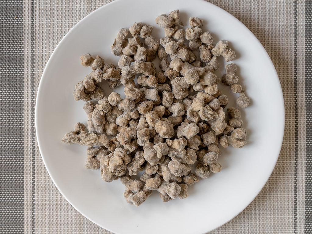 Beyond Meat Beef Crumbles uncooked