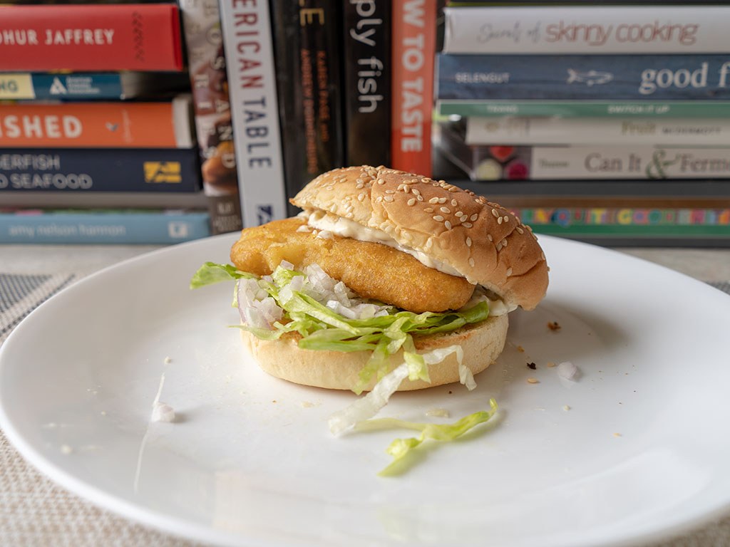 Van de Kamp's Crispy Fish Fillets fish sandwich