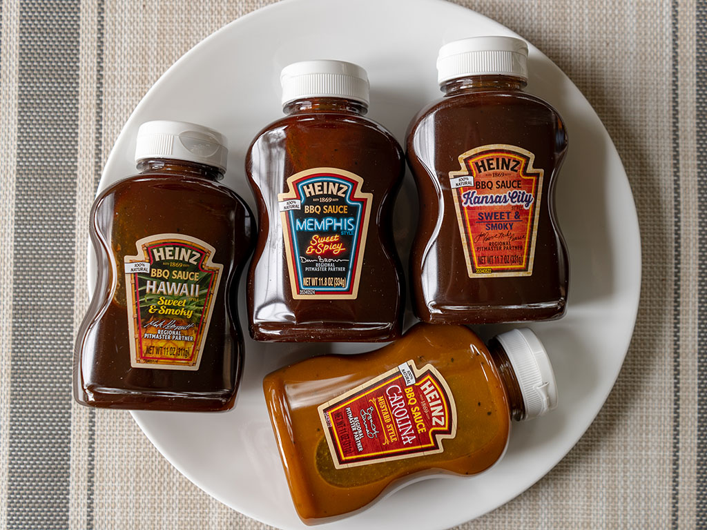 Heinz BBQ Sampler Pack - whats in the box