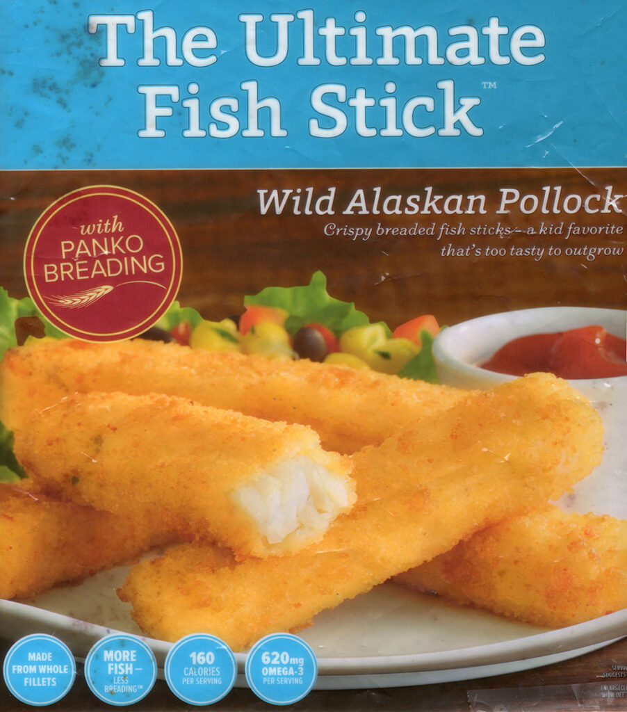 Trident The Ultimate Fish Stick package front