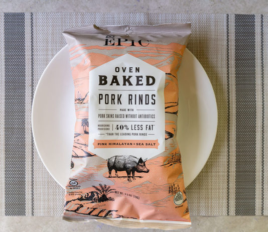 Epic Oven Baked Pork Rinds With Sea Salt