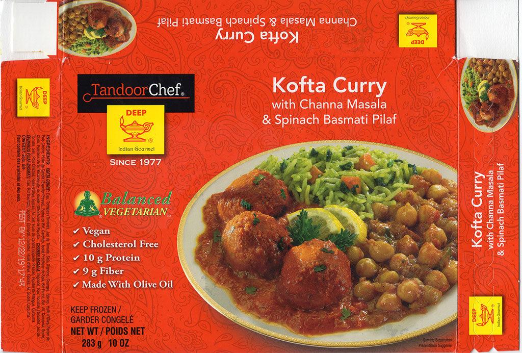 Tandoor Chef Kofta Curry package front