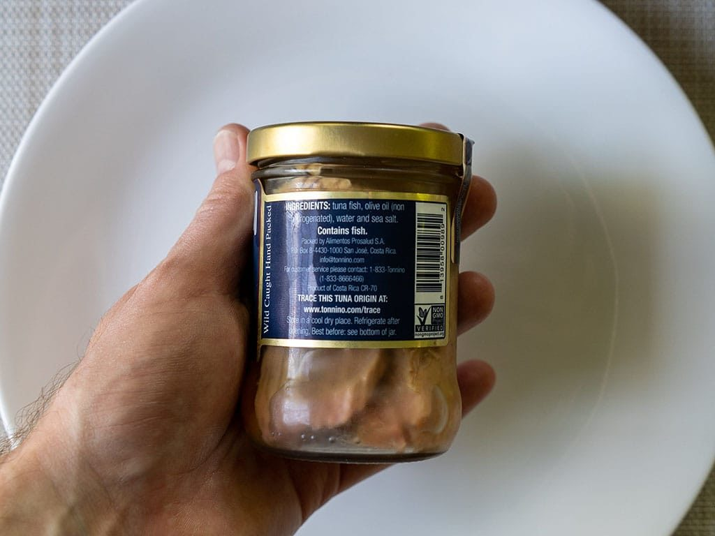 Tonnino Tuna Fillets In Olive Oil ingredients