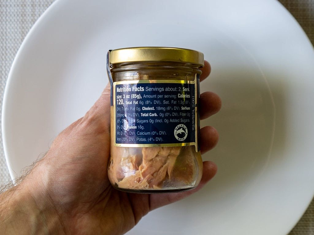 Tonnino Tuna Fillets In Olive Oil nutrition