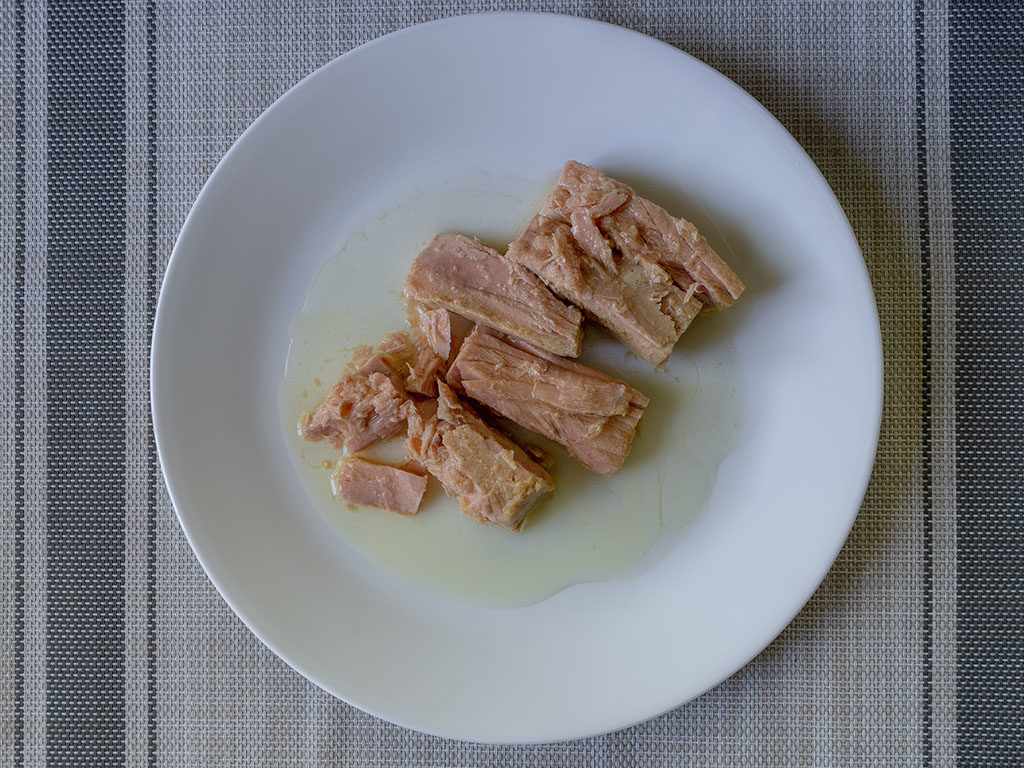 Tonnino tuna out of the jar
