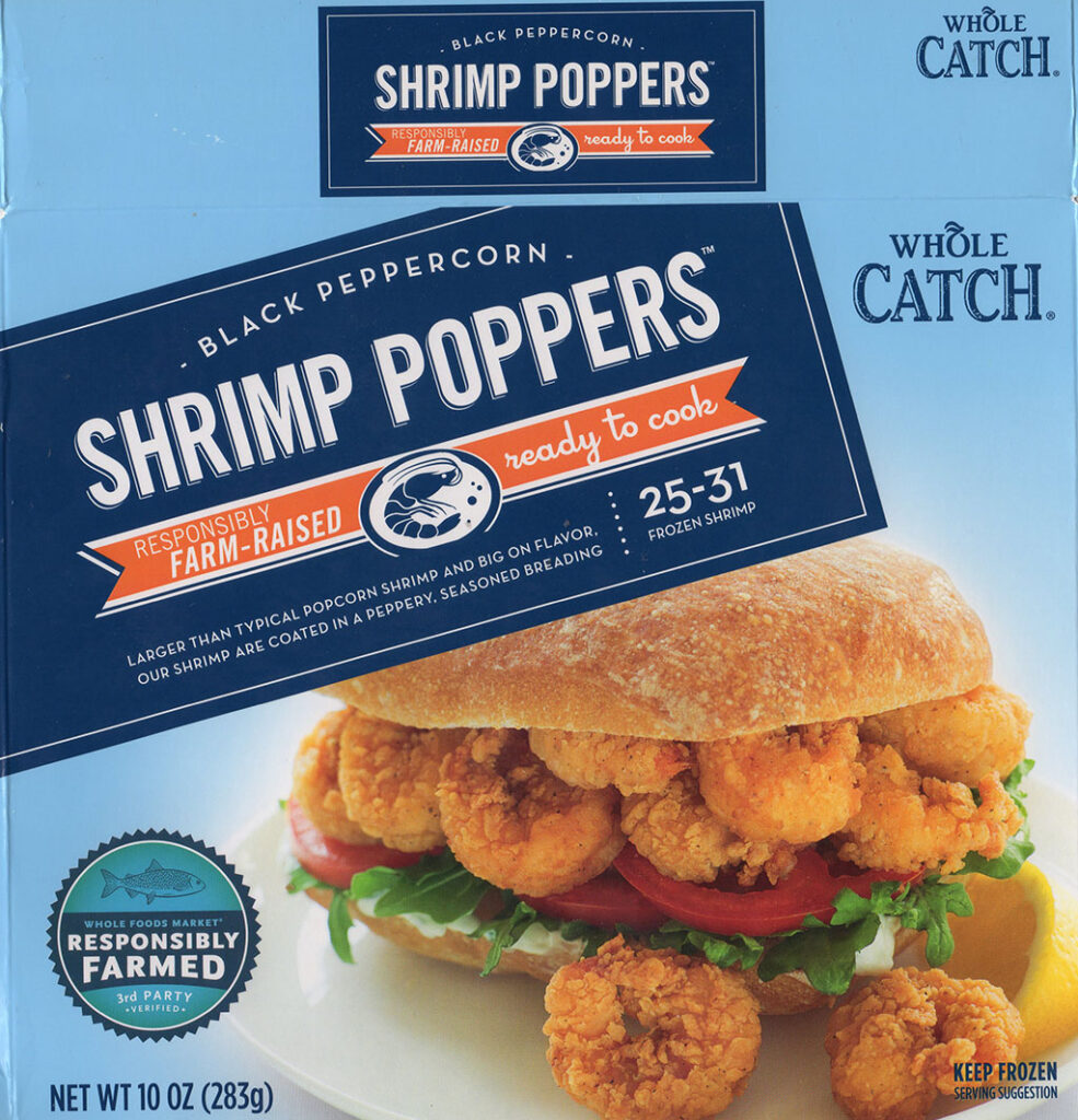 Whole Catch Shrimp Poppers package front